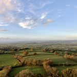 Glastonbury Tor View in Autumn